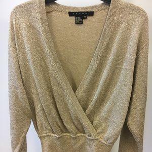 Tesori Gold Sweater